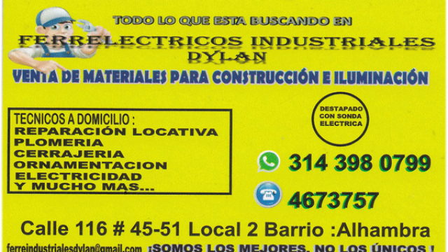 Ferre Electricos Industriales Dylan