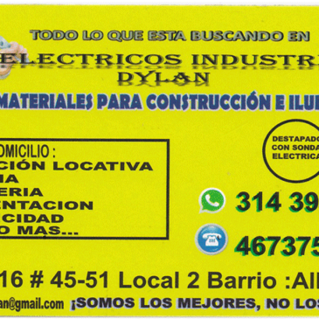 Ferre Electricos Industriales Dylan